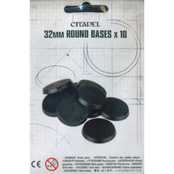 Citadel 32Mm Round Bases X10