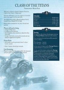 Adeptus Titanicus missions pack 25 July 2020